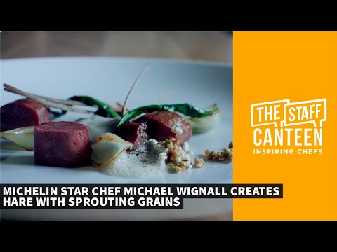 Michelin star chef Michael Wignall creates a Hare with grains and onion recipe from the Angel