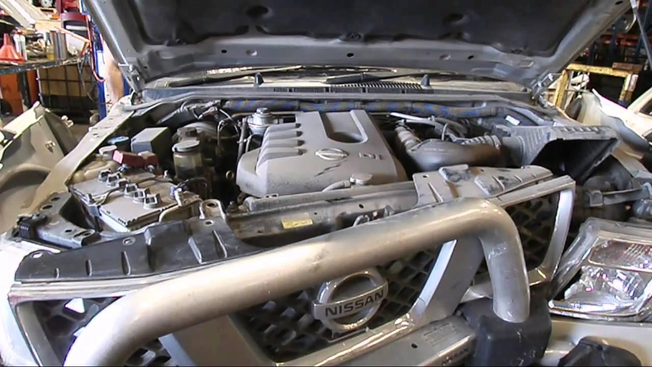 Wrecking 2009 Nissan Navara 2 5 C16571 Youtube