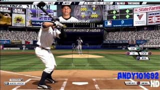 MLB 11 The Show Tigers vs Yankees Bottom of 1st (First Game)-Ps3