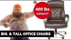Best Big and Tall Office Chairs in 2019 (Over 400 lbs Capacity)