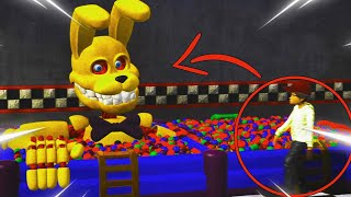 PIT BONNIE SALE DE LA PISCINA DE BOLAS PARA COMERSE A LOS NIÑOS ! EPICO😱 | FNAF The Killer in Purple