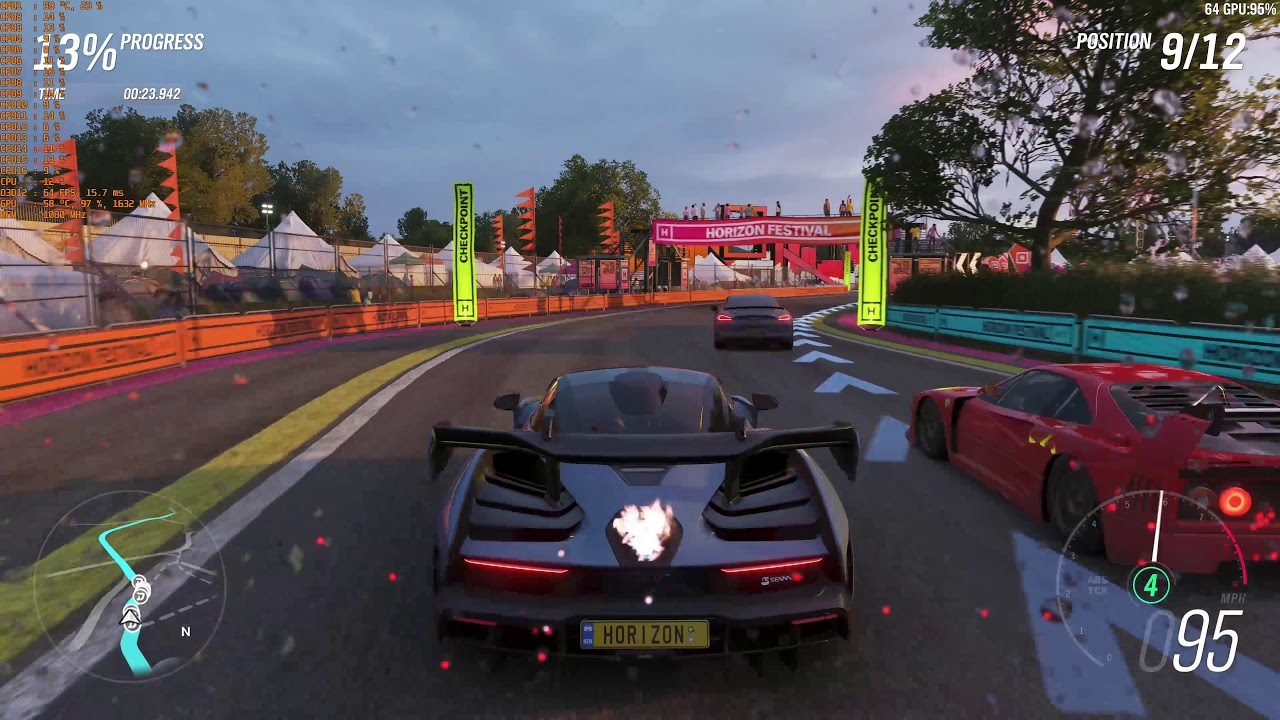 forza horizon 4 vega 64 ultra settings 4k benchmark youtube. Black Bedroom Furniture Sets. Home Design Ideas