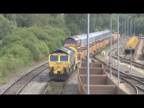 Sunrise Sunset UK Volume 5 - Hinksey Yard, Oxford By Train Crazy - Railway Video