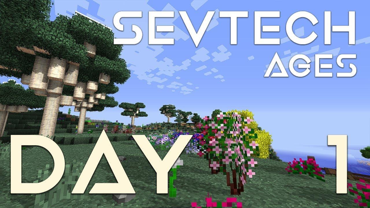 SevTech: Ages - EP 1 | Somewhere Strange (Age Zero)