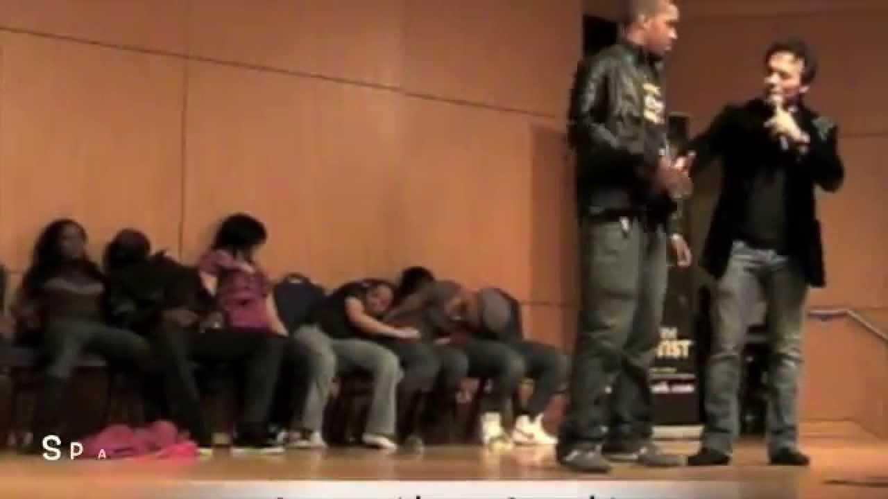 College Hypnotist Show - Best Hypnosis Show - YouTube