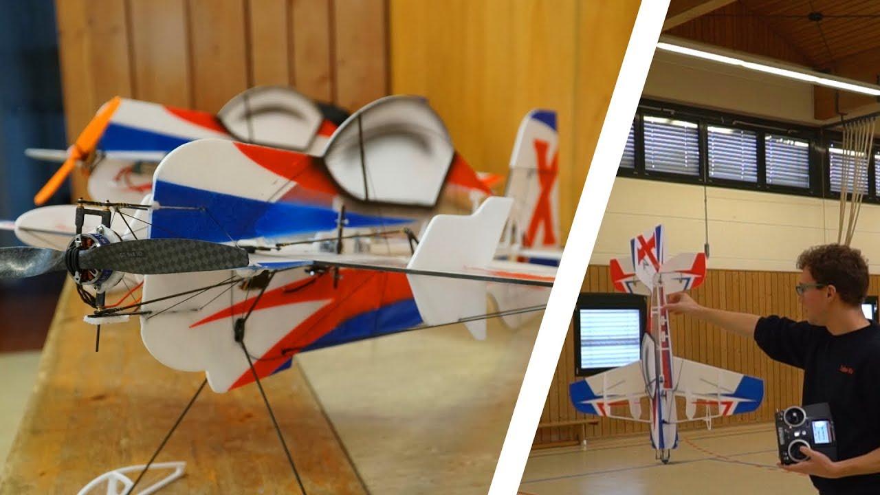 Neuer Motor für meine 4D Su-26   Vlog + Flight   Tobi-Style