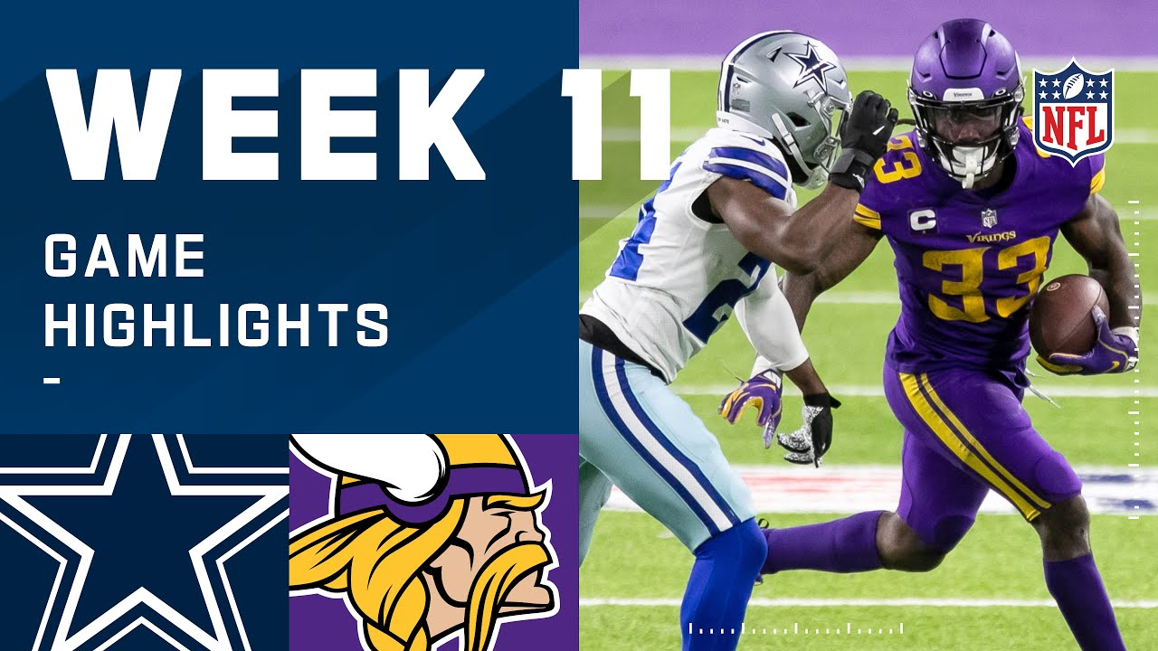 Download Cowboys vs. Vikings Week 11 Highlights | NFL 2020