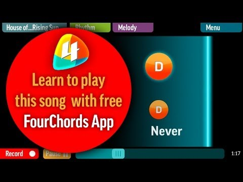 Easy Guitar Lesson - Tragedy -- Honoi Rocks - Tutorial with chords + Lyrics