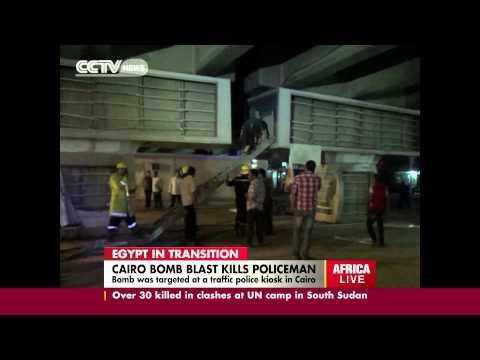 Cairo Bomb Blast Kills Policeman
