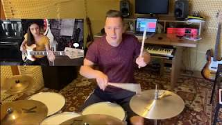 Kinga Głyk - Play with me if you want #bass groove 1 - Jan Titlbach drum cover
