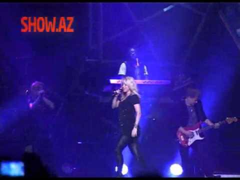 Shakira Azerbaijan Baku Crystall Hall 2012 show.az EXCLUSIVE