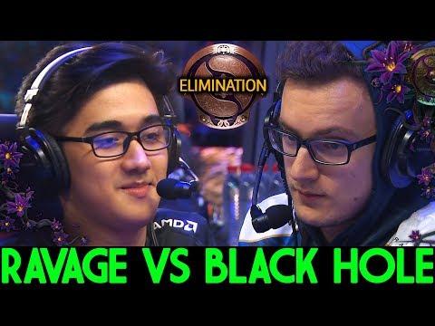Ravage VS Black Hole - LIQUID VS FNATIC - ELIMINATION TI 9 DOTA 2