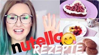 4 NUTELLA Rezepte - WENIGE ZUTATEN und mega easy!! | ViktoriaSarina