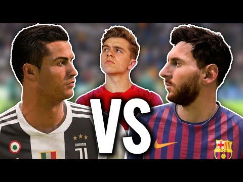 MESSI vs RONALDO Battle | FIFA 19