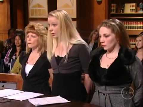 Judge Judy calls Blond Girl an Idiot (Looserds Episode)