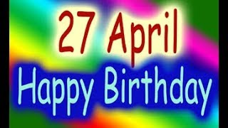 27 April Special New Birthday Status Video, happy birthday wishes, birthday msg quotes जन्मदिन