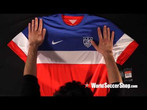 Nike USA 2014 Away Soccer Jersey - Unboxing