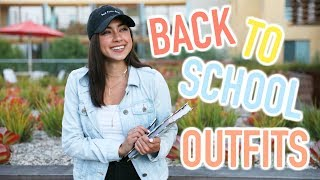 Back To School Outfits You Can Actually Wear!