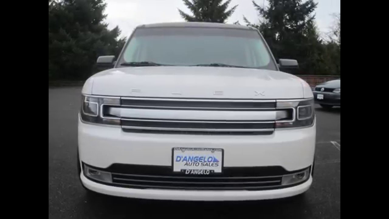 2016 ford flex limited first look