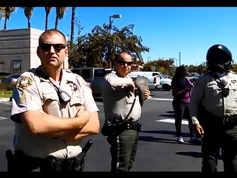 Riverside County Sheriffs Violating Rights Under Color of La