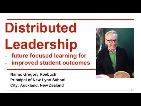Distributive Leadership