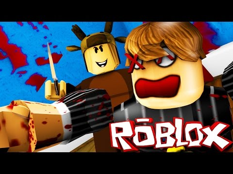 Roblox Adventures - MURDER MYSTERY! - MURDER IN THE SHOWER!