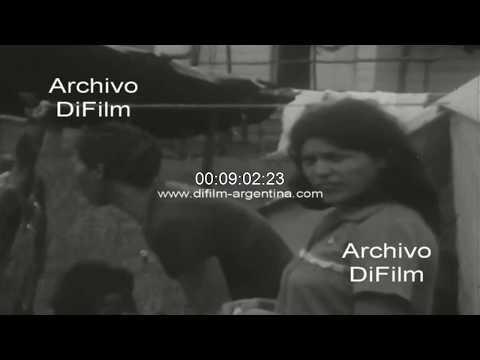 Campamento Nueva Esperanza con refugiados nicaraguenses 1979