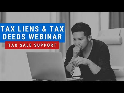 TAX LIENS & TAX DEEDS WEBINAR! LIVE AUCTION SEACH IN CA, AZ & FL