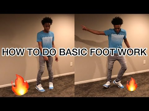 Eli Basic Footwork Tutorial ( Step By Step 🔥 )