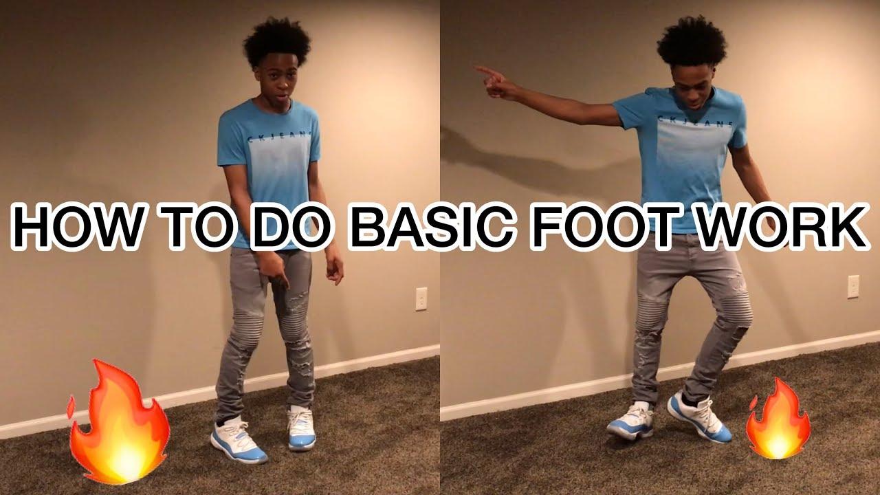 Basic Footwork tutorial (Step by Step)