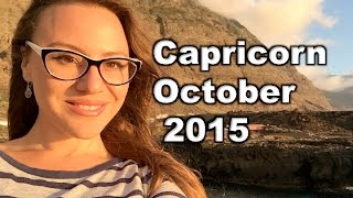 CAPRICORN October 2015. EXCITING NEW ADVENTURES for 18 months