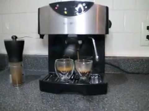 Mr Coffee Coffee Maker Not Working : Mr. Coffee ECMP50 Pump Espresso/Cappuccino latte Maker - YouTube
