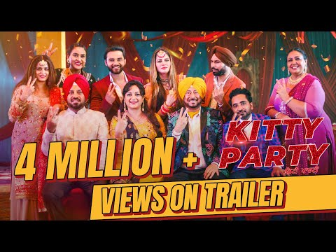 Kitty Party (Official Trailer)| Navv Bajwa | Kainaat Arora | Releasing On 13/12/2019 | Latest Movies