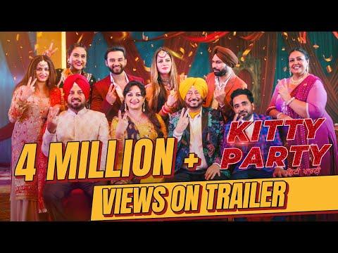 Kitty Party  Trailer  Navv Bajwa   Kainaat Arora   Releasing On 13/12/2019   Latest Movies