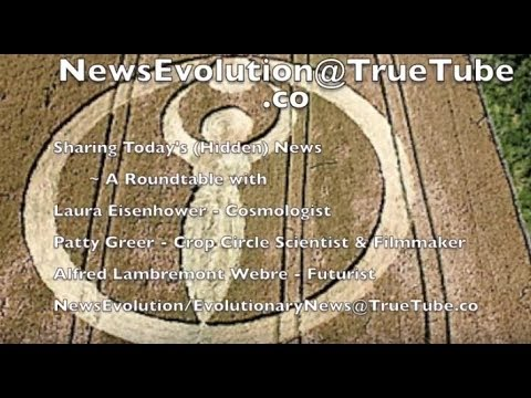 NewsEvolution-Laura Eisenhower, Patty Greer & Alfred Lambremont Webre: Pedo-Cabal-Conehead Downfall