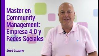 Master Community Management: Empresa 2.0 y Redes Sociales de IEBS