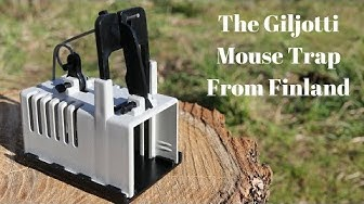 The Giljotti Mouse Trap From Finland