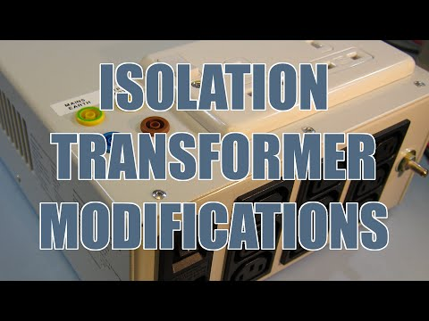 SDGEE #05 Medical Isolation Transformer Teardown and Modifications