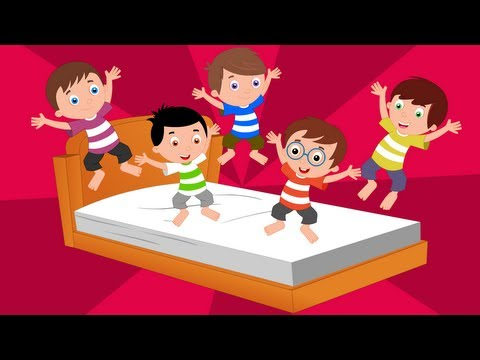Bob The Train Babies Jumping On The Bed