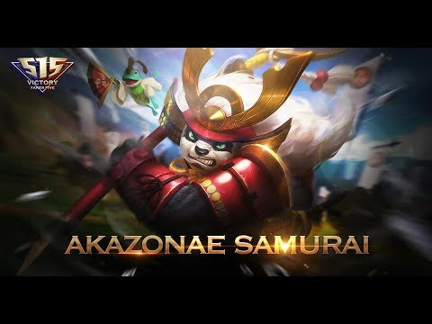 June Starlight Exclusive Skin Akai Akazonae Samurai