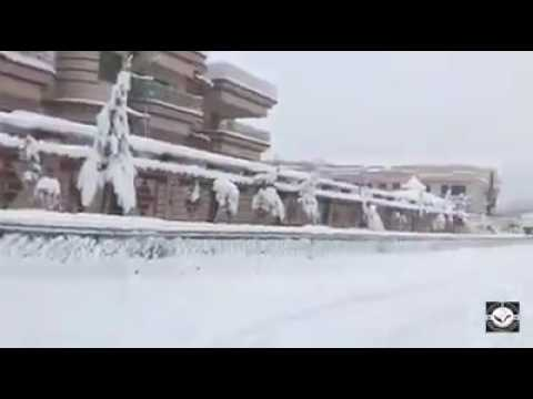 Afghanistan Kabul City's Snow