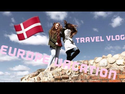 EUROPE TRAVEL VLOG (Copenhagen,beaches, & more)