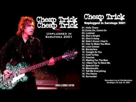 Cheap Trick -  2001.07.19 Unplugged Remaster at Villa Montalvo, Saratoga CA USA