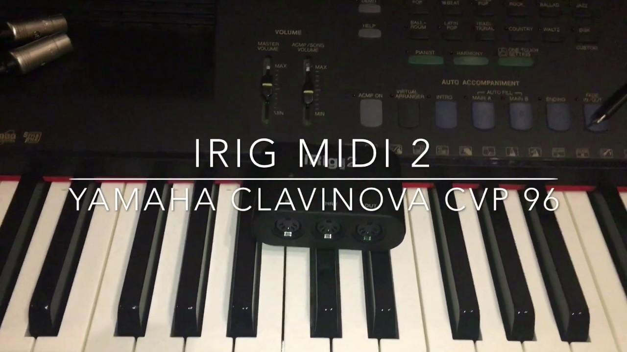 YAMAHA CLAVINOVA MIDI DRIVERS WINDOWS 7