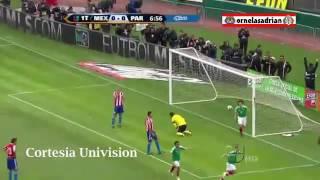 Mexico 3-1 Paraguay Amistoso 2011 Narración Univision Pablo Ramirez 26-03-2011