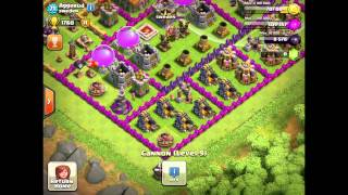 Clash Of Clans - Showing up my clan top 5 trophie hunters #SWEDEN