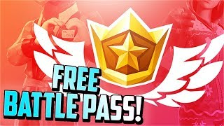 Get the Fortnite SEASON 8 BATTLE PASS for FREE!
