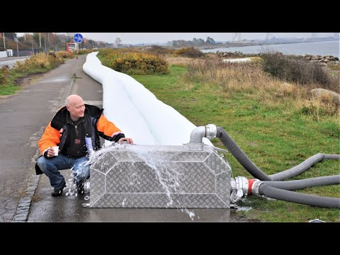 NoFloods Mobile Barrier - 200 m TwinTube60 (656ft)