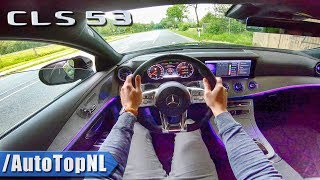 MERCEDES AMG CLS 53 4Matic+ POV Test Drive by AutoTopNL