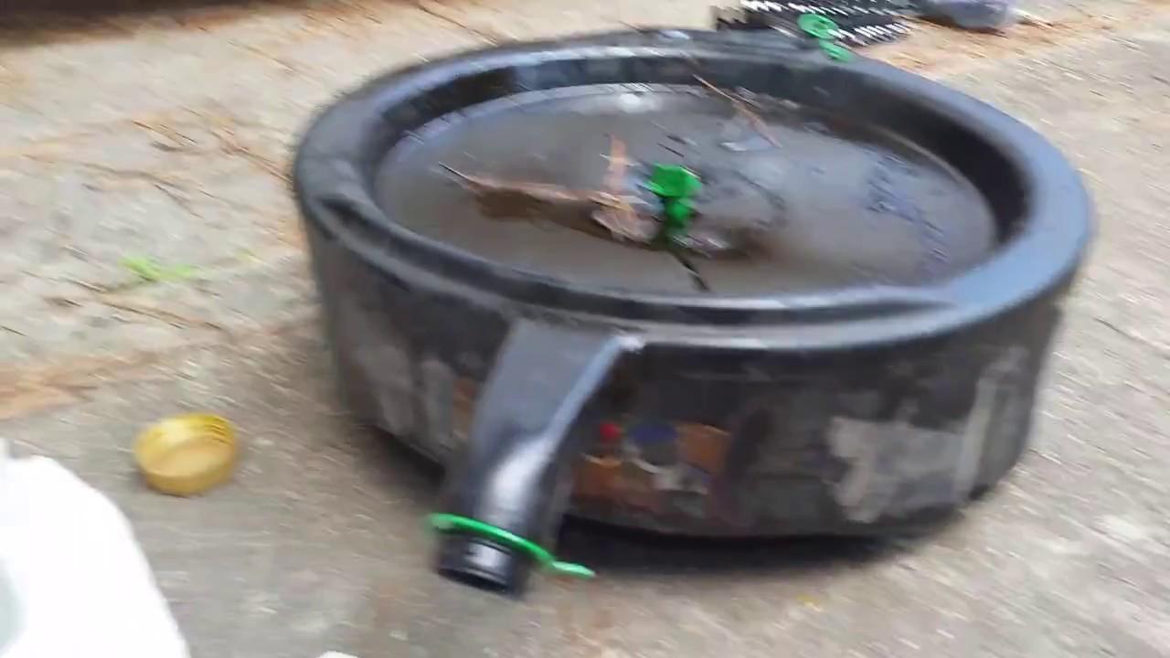 Oil Drain Pan Replacement Cap Youtube